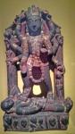 Stone statue of Kali.