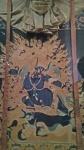 Yama Dharmaraja, buffalo-headed Lord of Death.