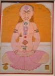 Yogi with Chakras.