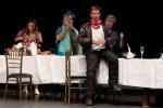 Soraya Mafi, Susan Bullock, Simon Keenlyside, Janis Kelly. Credit Richard Lewisohn.