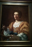 Portrait of Artemisia Gentileschi (1623-26).