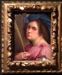 Self-portrait as a female martyr (1613-14).