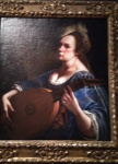 Self-portrait as a lute player (1615-17).