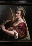 Self-portrait as St Catherine of Alexandria (1615-17).