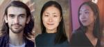 Headshots - Harry Dean, Haylin Cai, Tingying Dong.