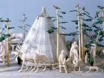 model of a north Siberian camp.
