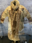 Woman's winter coat.