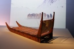 wooden sled.