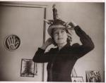 Agar wearing Bouillabaise hat.