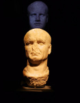 Bust of Vespasian recarved from a likeness of Nero.