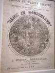Alice in Wonderlad, Musical.