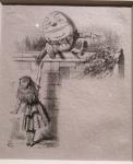 J.Tenniel, Humpty Dumpty.