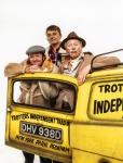 4. Tom Bennett, Del Boy, Ryan Hutton: Rodney, Paul Whitehouse: Grandad, credit - Trevor Leighton.