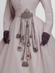 Chatelaine, hanging accessories.