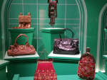 Exotic handbags.
