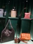 Shaped handbags.